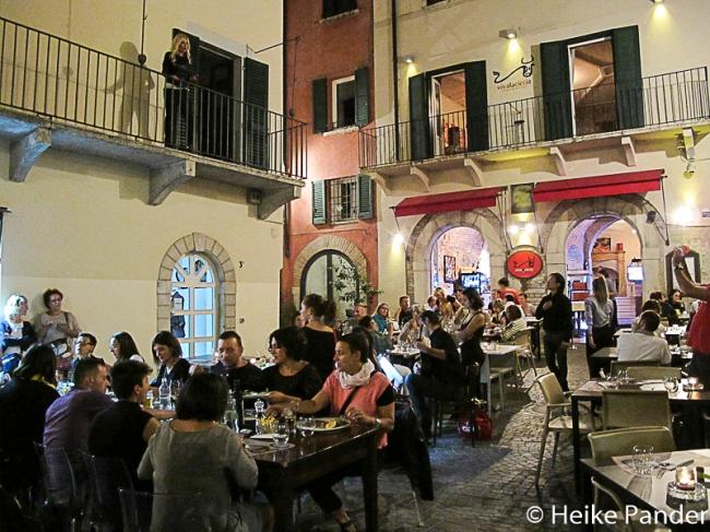 Serenade vom Balkon, Brescia