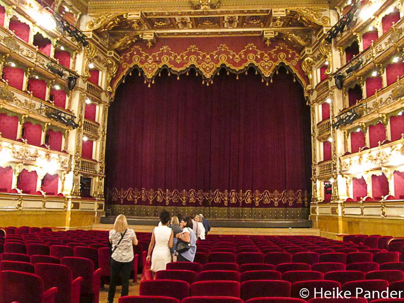 Teatro Grande, Innenraum, Brescia