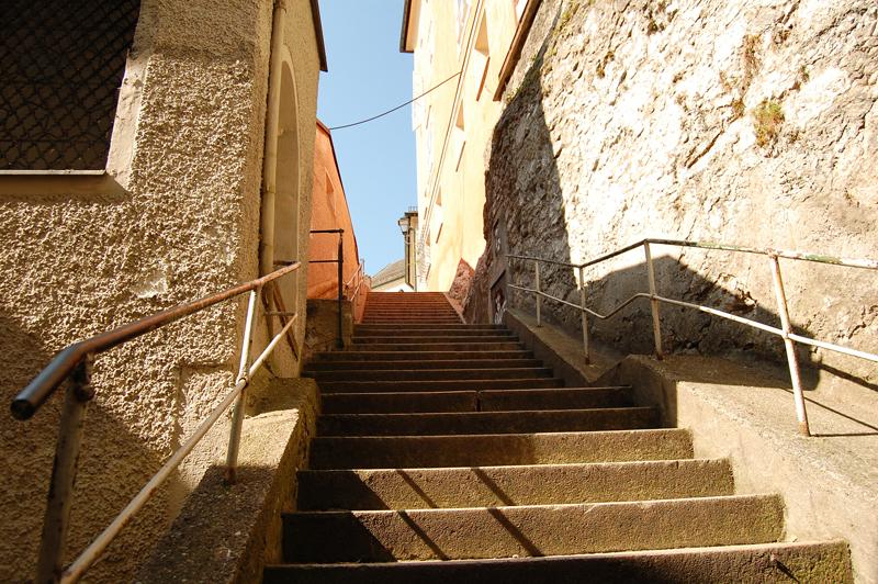 Treppen zum Kapuzinerberg